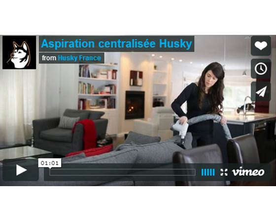 principe et fonctionnement de l 39 aspiration centralis e husky. Black Bedroom Furniture Sets. Home Design Ideas